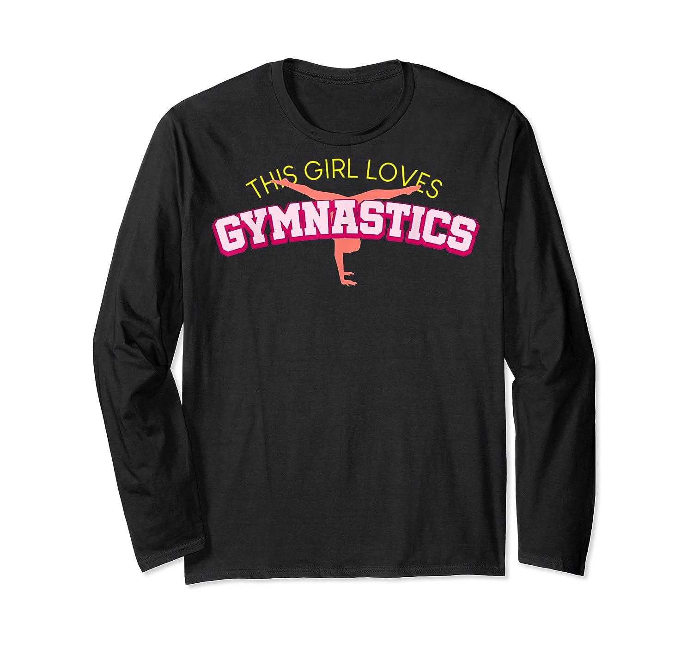 Gymnastics Girl Shirts Long Sleeve T-shirt