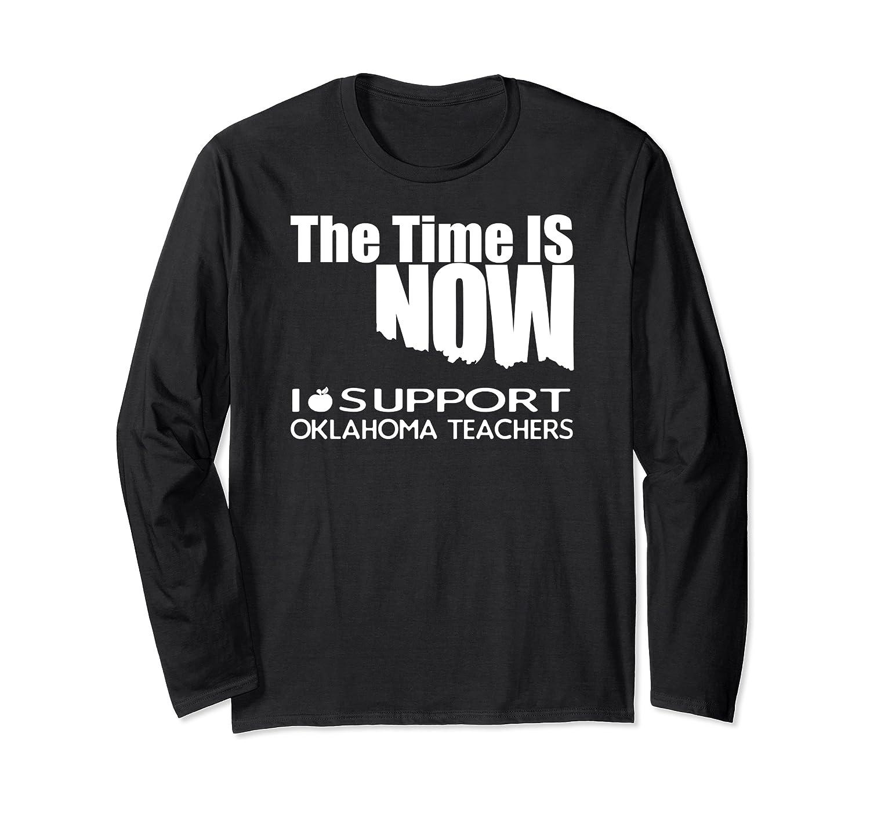 Oklahoma Tea Shirt - Protest Tee For Walkout Long Sleeve T-shirt