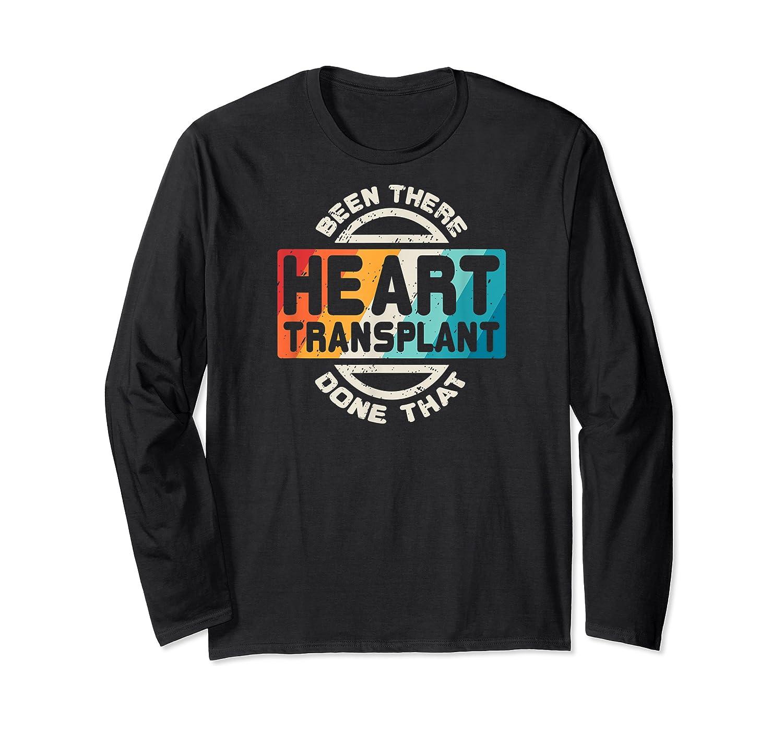 Heart Transplant Organ Recipient Survivor Gift Shirts Long Sleeve T-shirt