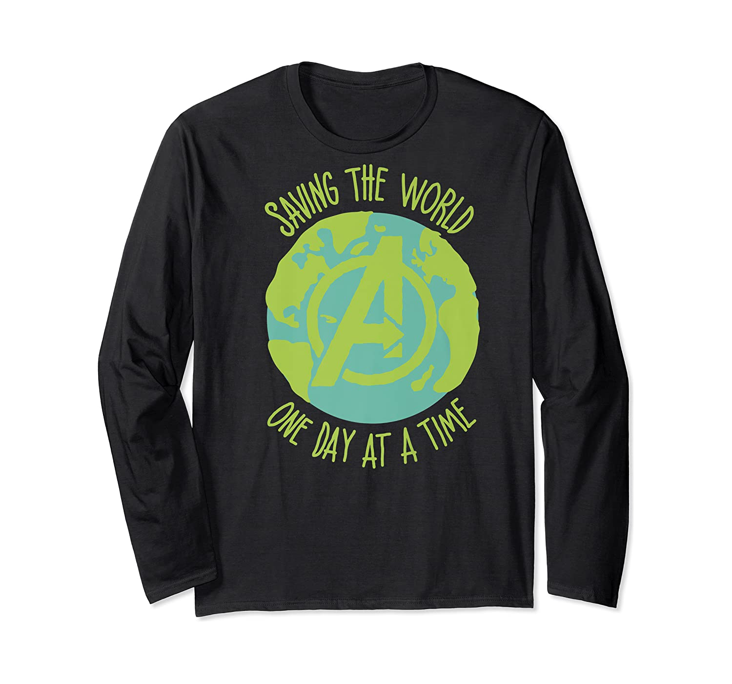Earth Day Saving The World One Day At A Time Shirts Long Sleeve T-shirt