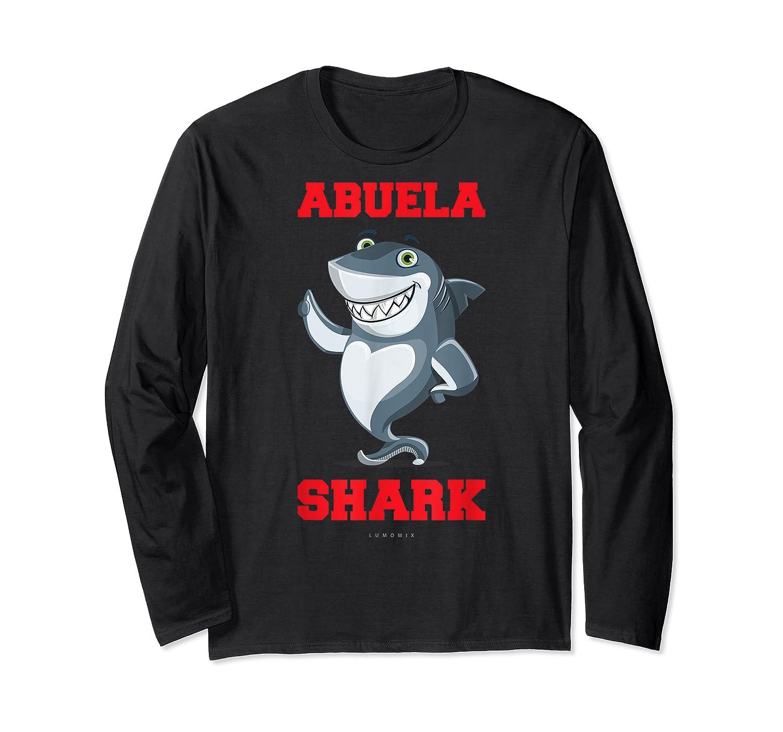 Abuela Shark Tshirts: Funny Spanish Gift T-shirt Long Sleeve T-shirt