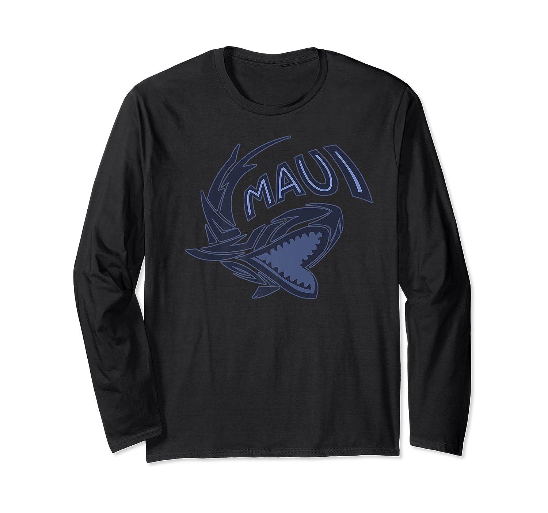 Maui Hawaii Shark Shirts Long Sleeve T-shirt
