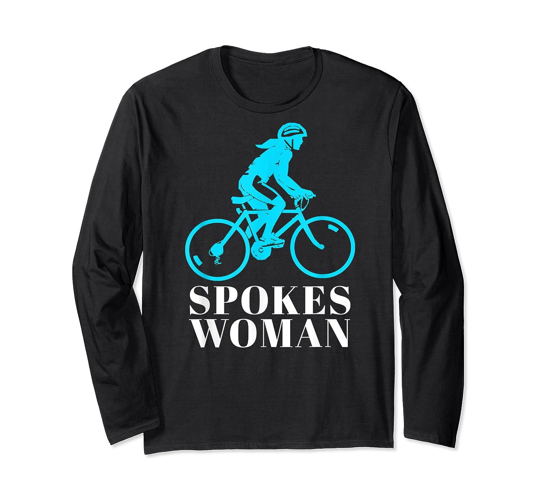 Spokes Woman Cycling Shirts Long Sleeve T-shirt