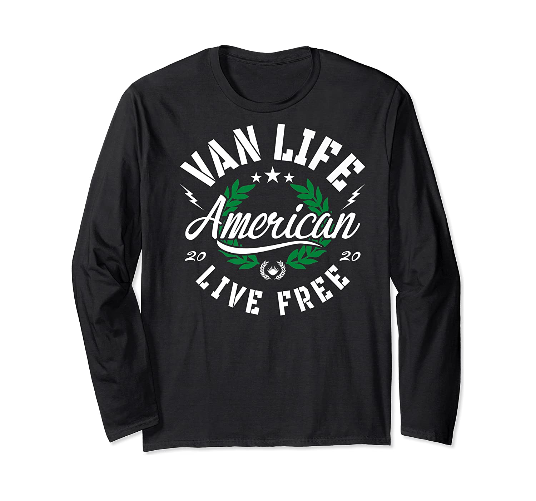 Van Dweller Clothing & Van Life Apparel - Van Life Premium T-shirt Long Sleeve T-shirt