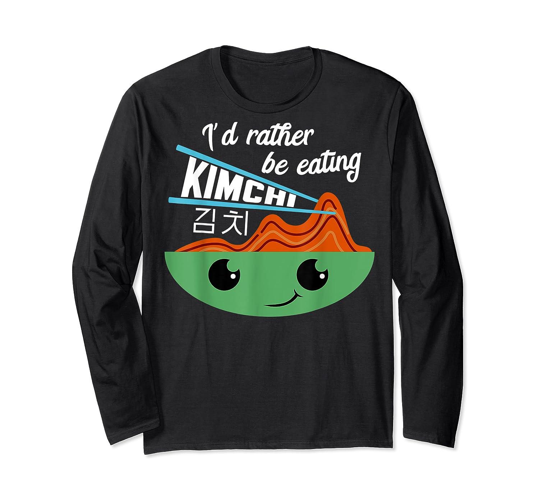 Kimchi Cute Korean Ferted Food Shirts Long Sleeve T-shirt