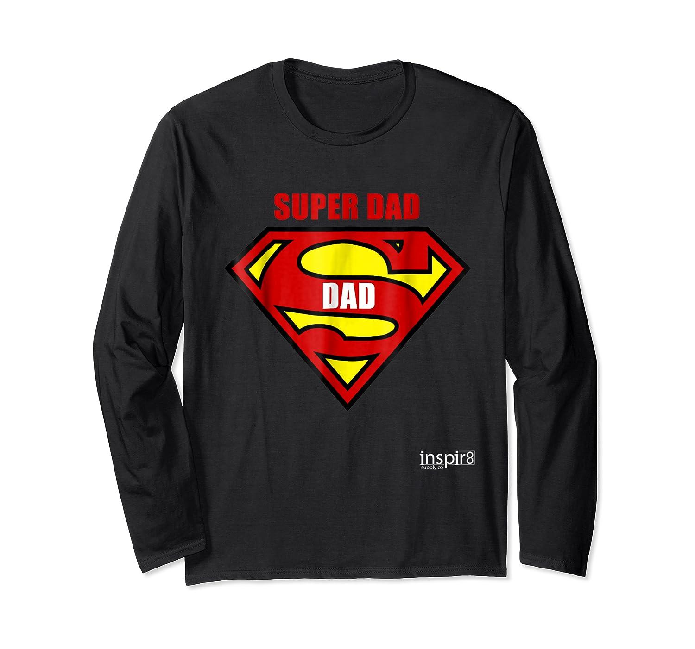 Super Dad By Inspir8 Movet Shirts Long Sleeve T-shirt