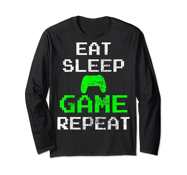Gaming Console Vintage Shirts Long Sleeve T-shirt