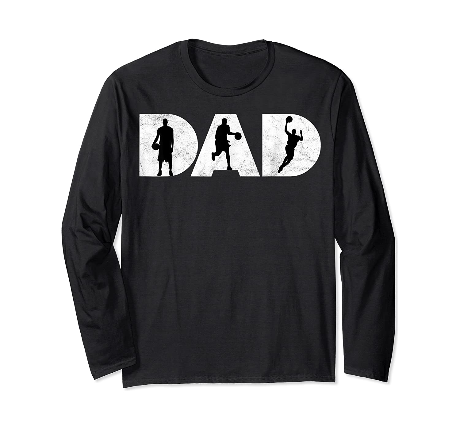 Father Gift For Basketball Dad Shirts Long Sleeve T-shirt
