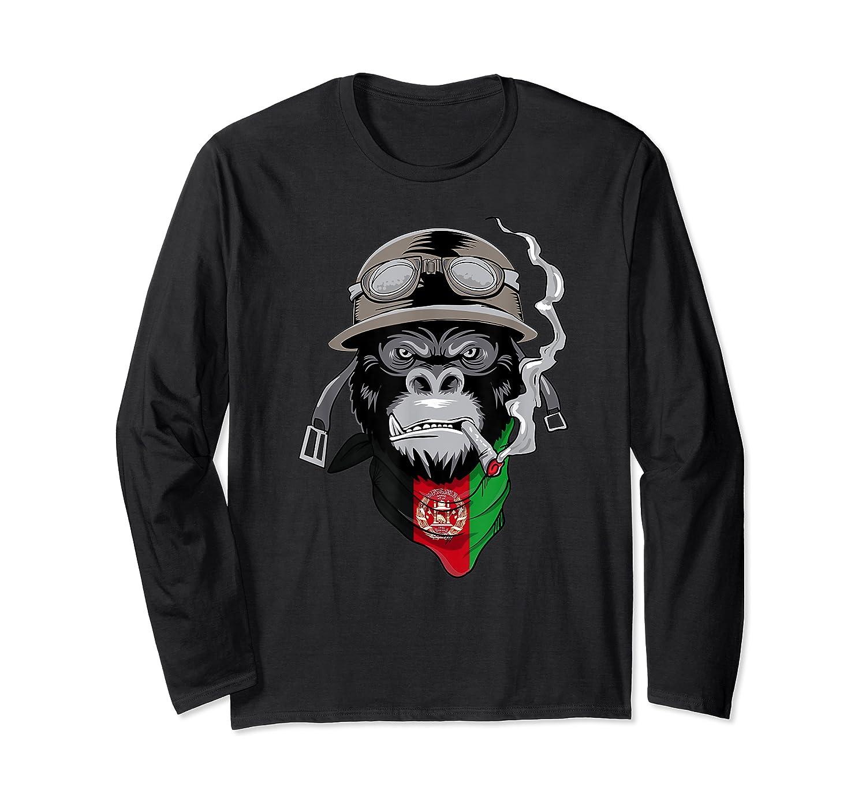 Afghanistan Afghans Shirts Long Sleeve T-shirt