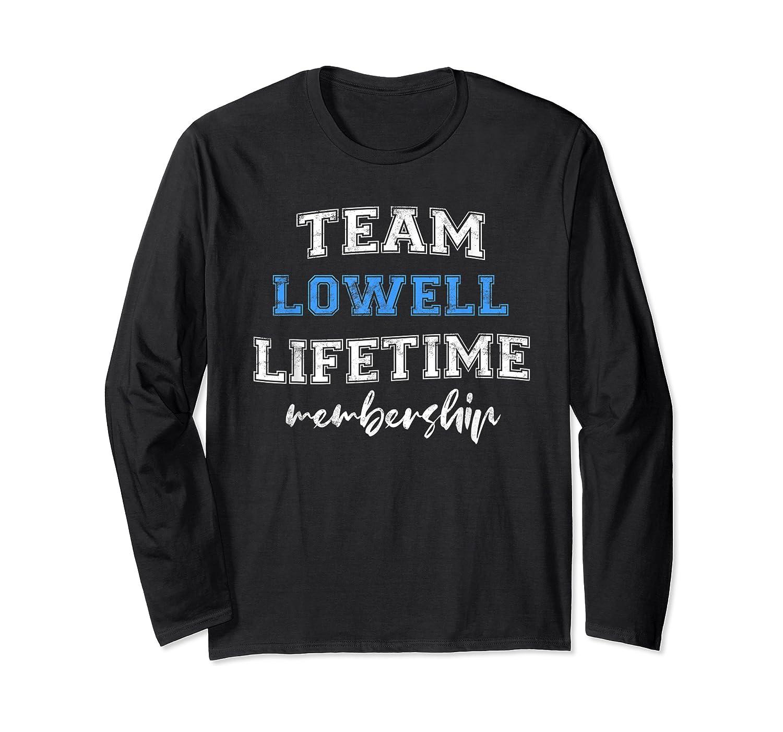 S Team Lowell Groom Squad Custom Bachelor Party Wedding T-shirt Long Sleeve T-shirt