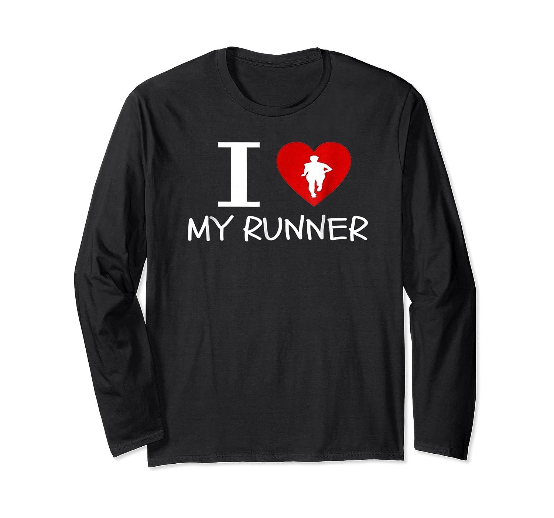 Running Run Runner Track Marathon Funny Cheer Mom Shirts Long Sleeve T-shirt