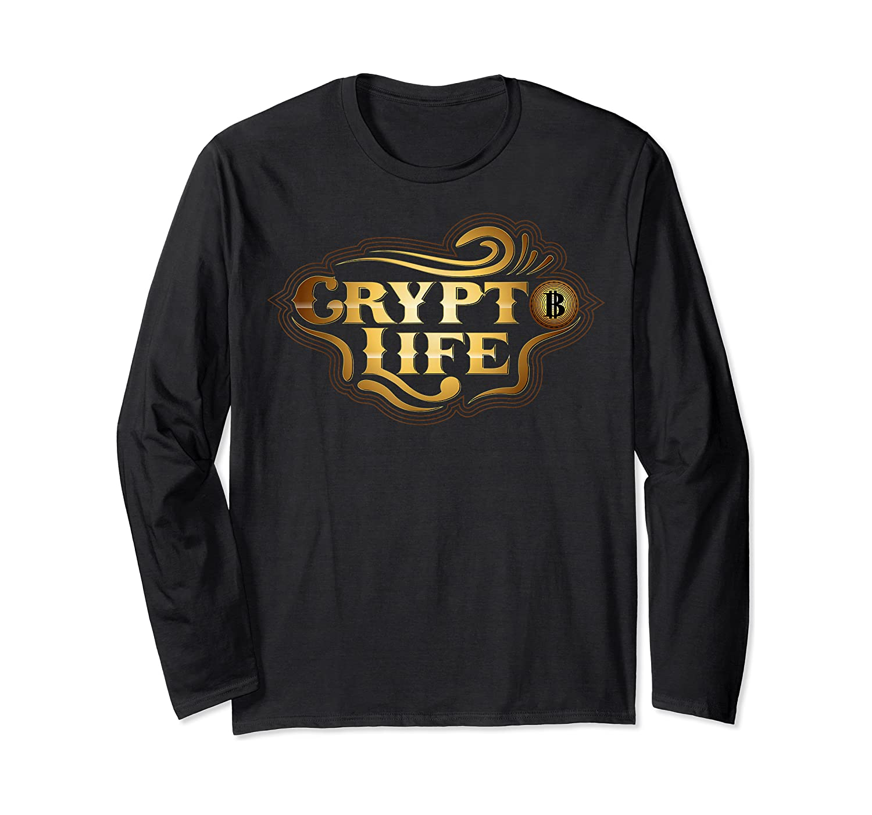 Bitcoin Miner Currency Blockchain Coin Mining Gift Idea T-shirt Long Sleeve T-shirt