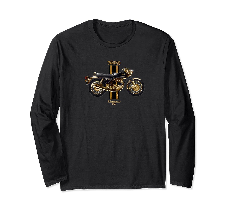 Vintage Motorcycle 1973 Norton Commando 850 Premium T-shirt Long Sleeve T-shirt
