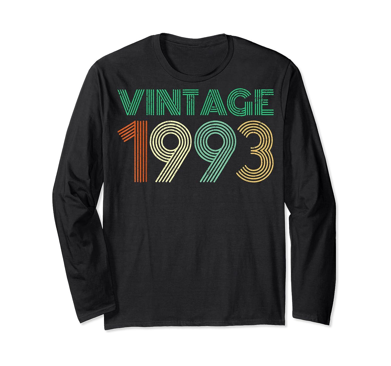 26th Birthday Gift Idea Vintage 1993 T-shirt Distressed Long Sleeve T-shirt