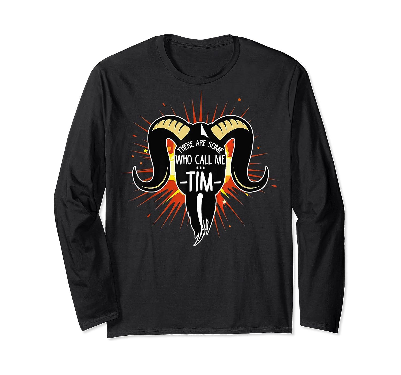 Some Who Call Me Tim Explosion T-shirt Long Sleeve T-shirt
