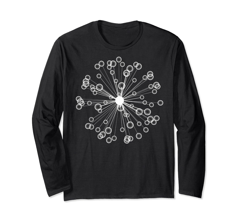 Mod Art Bursting Balls T-shirt Long Sleeve T-shirt