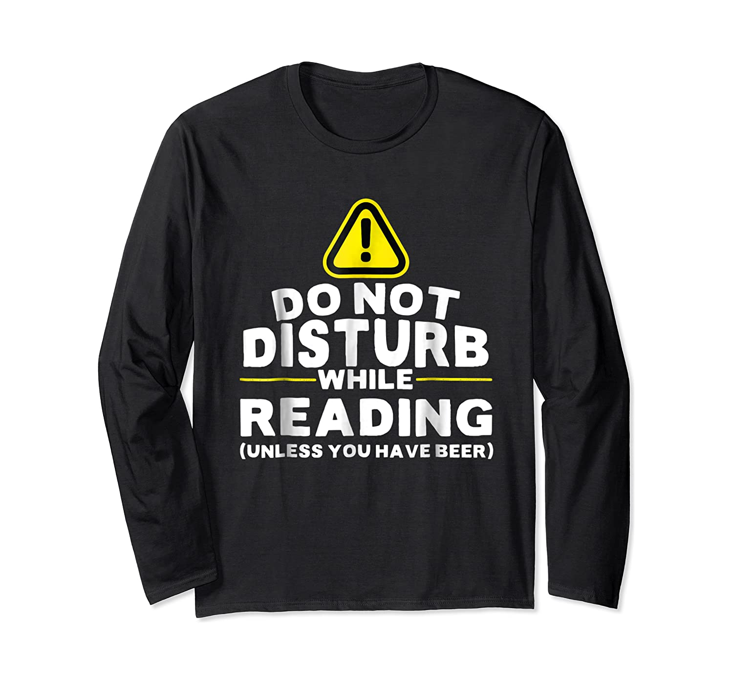 Drinking Beer Lovers Funny Book Reading T-shirt Long Sleeve T-shirt