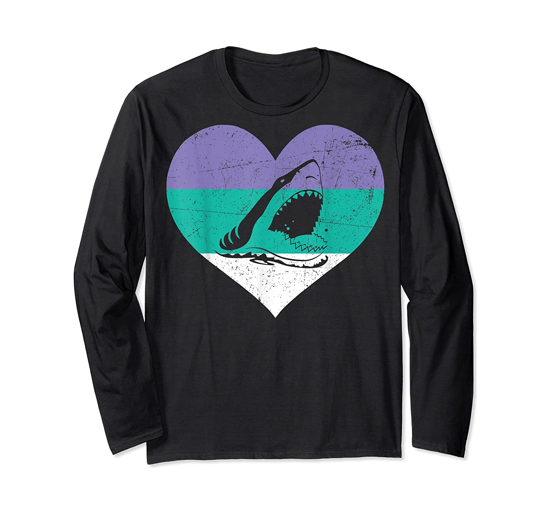 Funny Family Matching Gifts Great Shark T-shirt Long Sleeve T-shirt