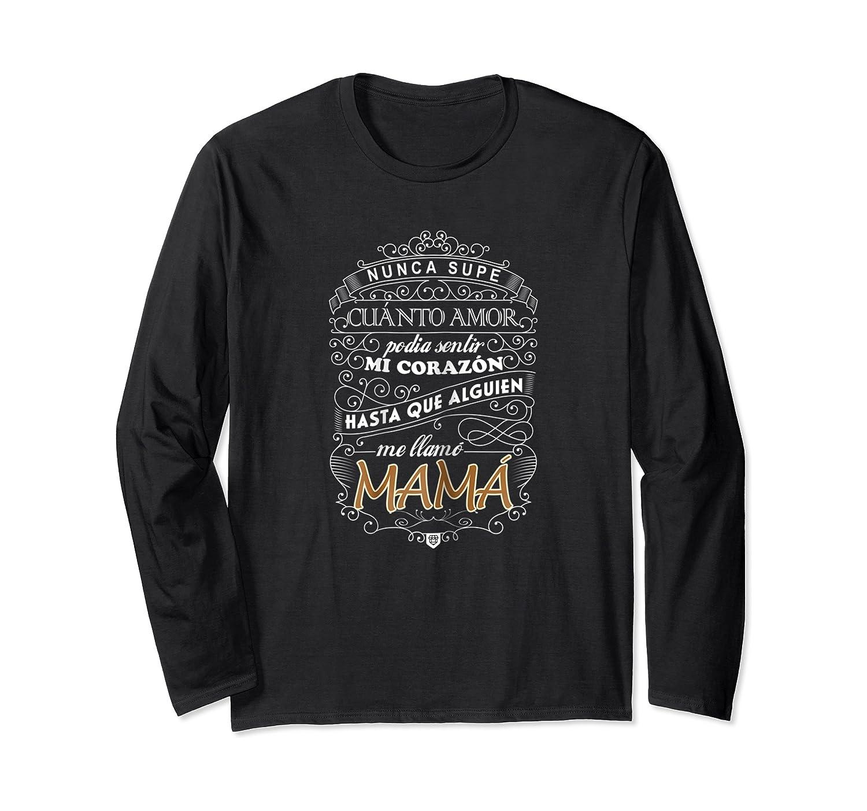 Camiseta De Mujer Para Mamas T-shirt Para Dia De Las Madres Long Sleeve T-shirt