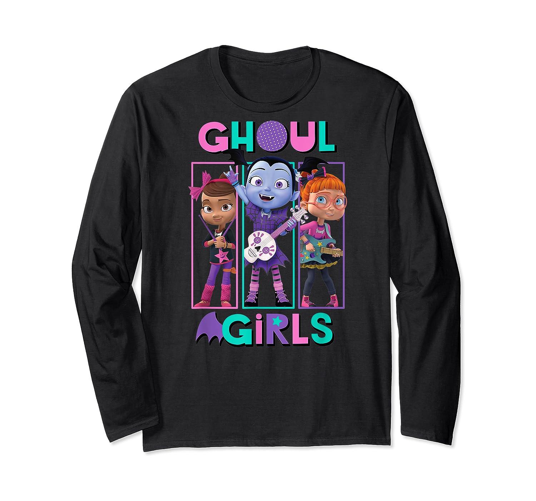 Vampirina Ghoul Girls Trio Shirts Long Sleeve T-shirt