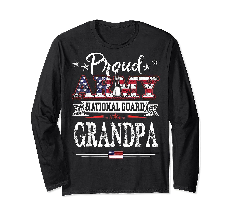 Proud Army National Guard Grandpa T-shirt U.s. Military Gift T-shirt Long Sleeve T-shirt