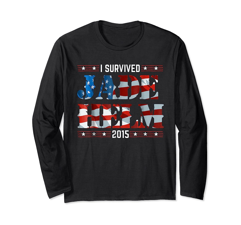 Jade Helm 15 Conspiracy Theories T Shirt Usa Army Political Long Sleeve T-shirt
