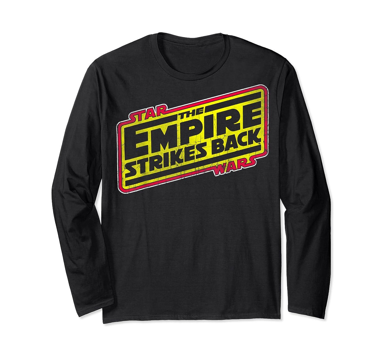 Star Wars The Empire Strikes Back Vintage Logo T-shirt Long Sleeve T-shirt