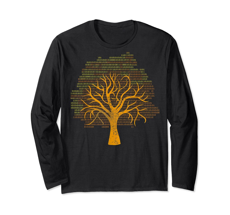 Binary Tree Computer Coding Shirts Long Sleeve T-shirt