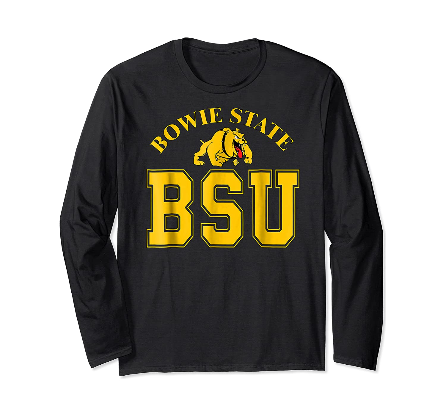 Bowie State 1865 University Apparel Shirts Long Sleeve T-shirt