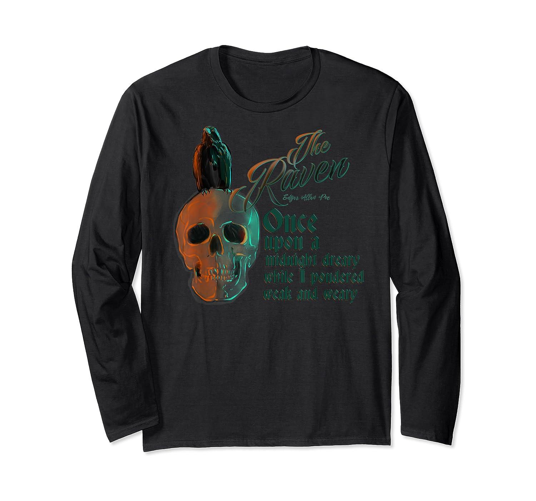 The Raven, Edgar Poe, Fan Art T-shirts And Gifts T-shirt Long Sleeve T-shirt