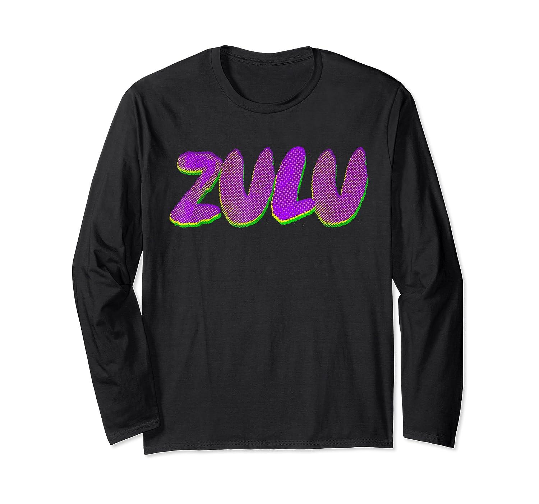 Mardi Gras Shirt - Zulu Parade T-shirt Long Sleeve T-shirt