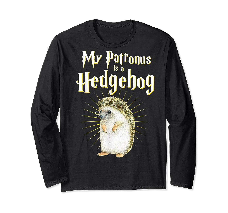 My Patronus Is A Hedgehog Harry Fan Cute Gift Shirts Long Sleeve T-shirt