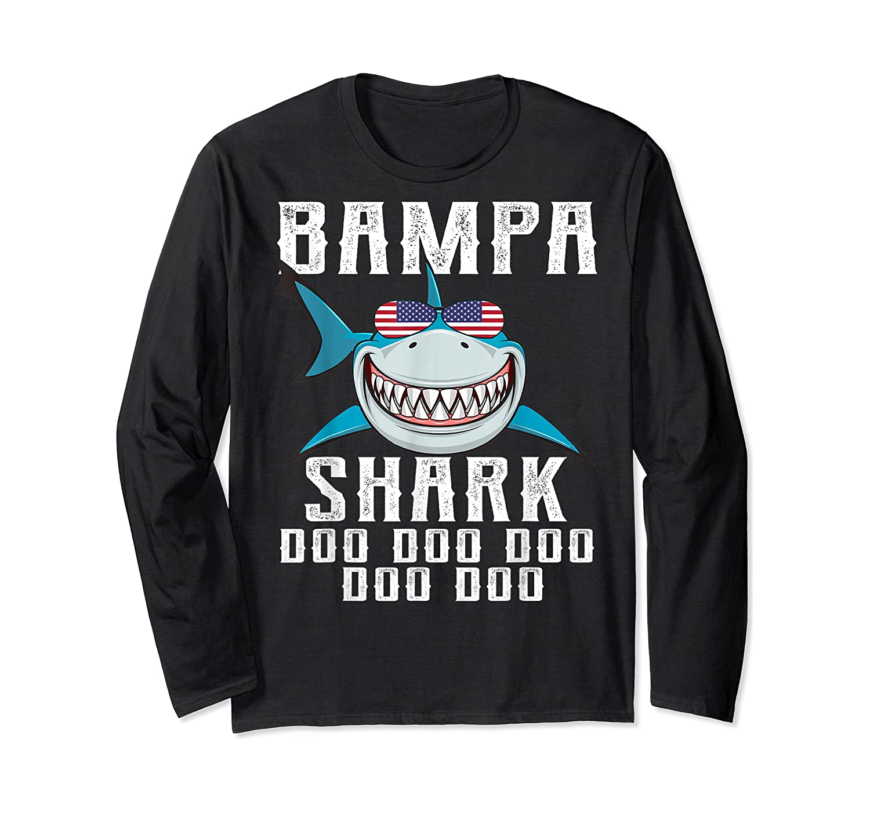 Bampa Shark Doo Doo Shirt - Matching Family Shark Shirts Long Sleeve T-shirt