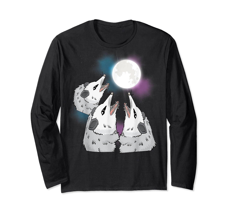 Three Opossum Moon S Shirts Long Sleeve T-shirt