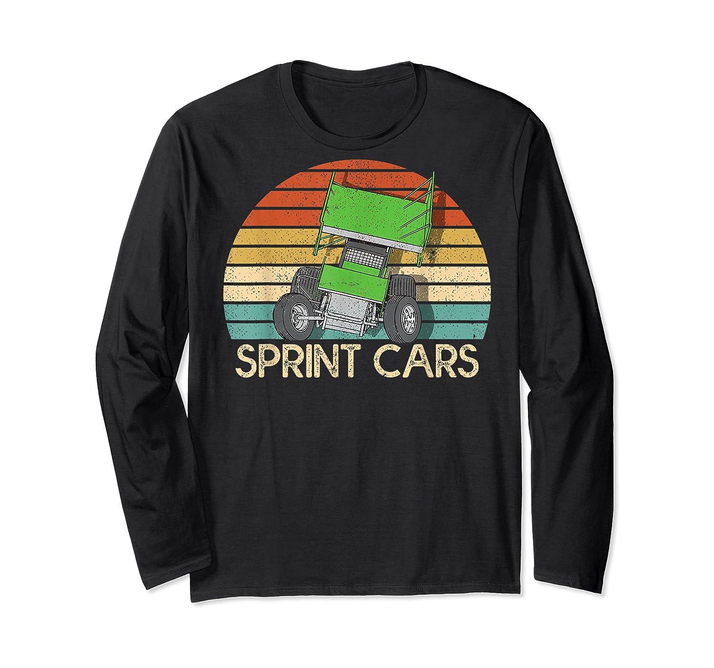 Vintage Sprint Cars T-shirt Long Sleeve T-shirt