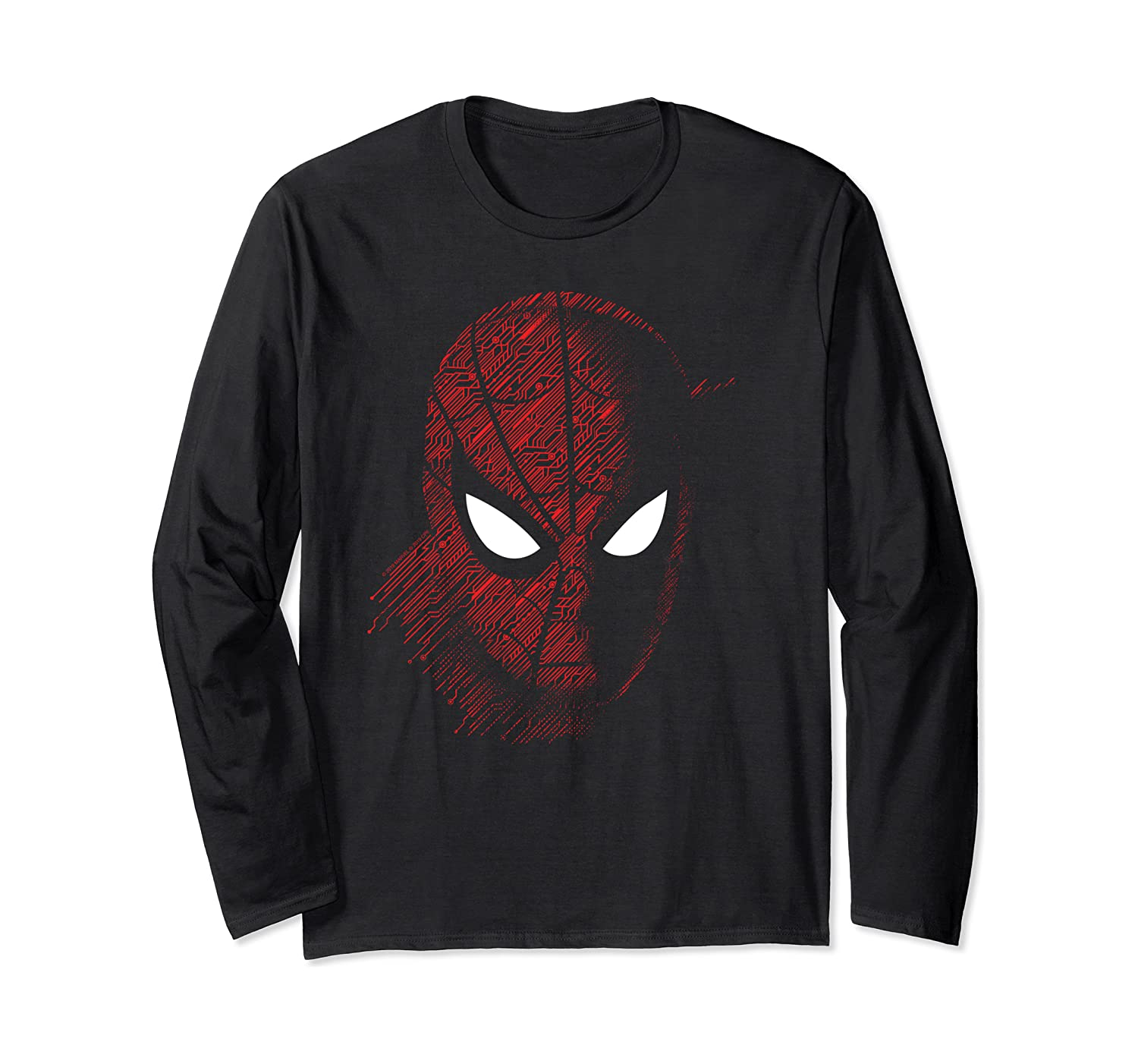 Marvel Spider-Man: Far From Home Close Up Long Sleeve T-Shirt