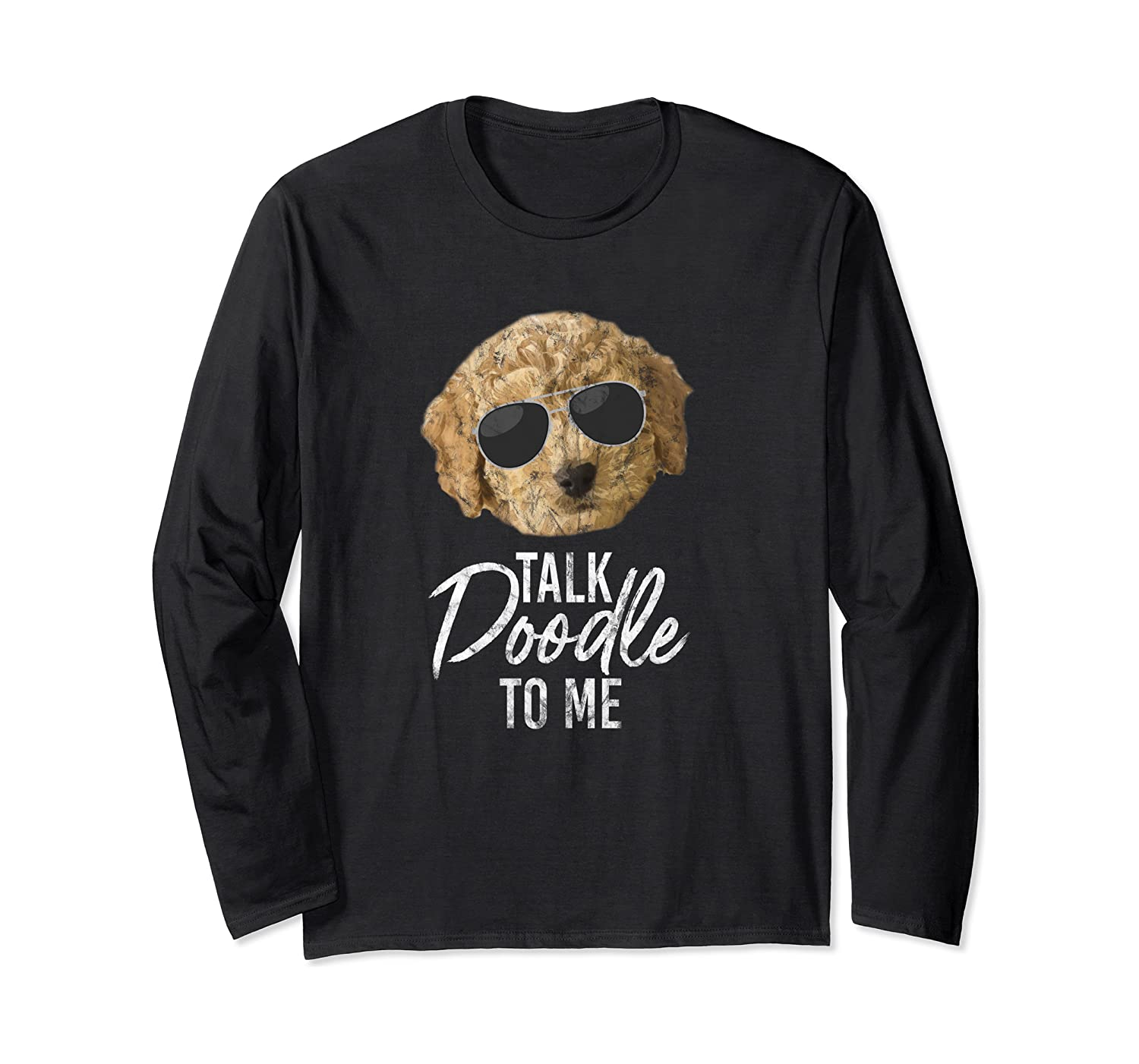 Golden Doodle T Shirt Dood GoldenDoodle Mom Dog Glasses Tee