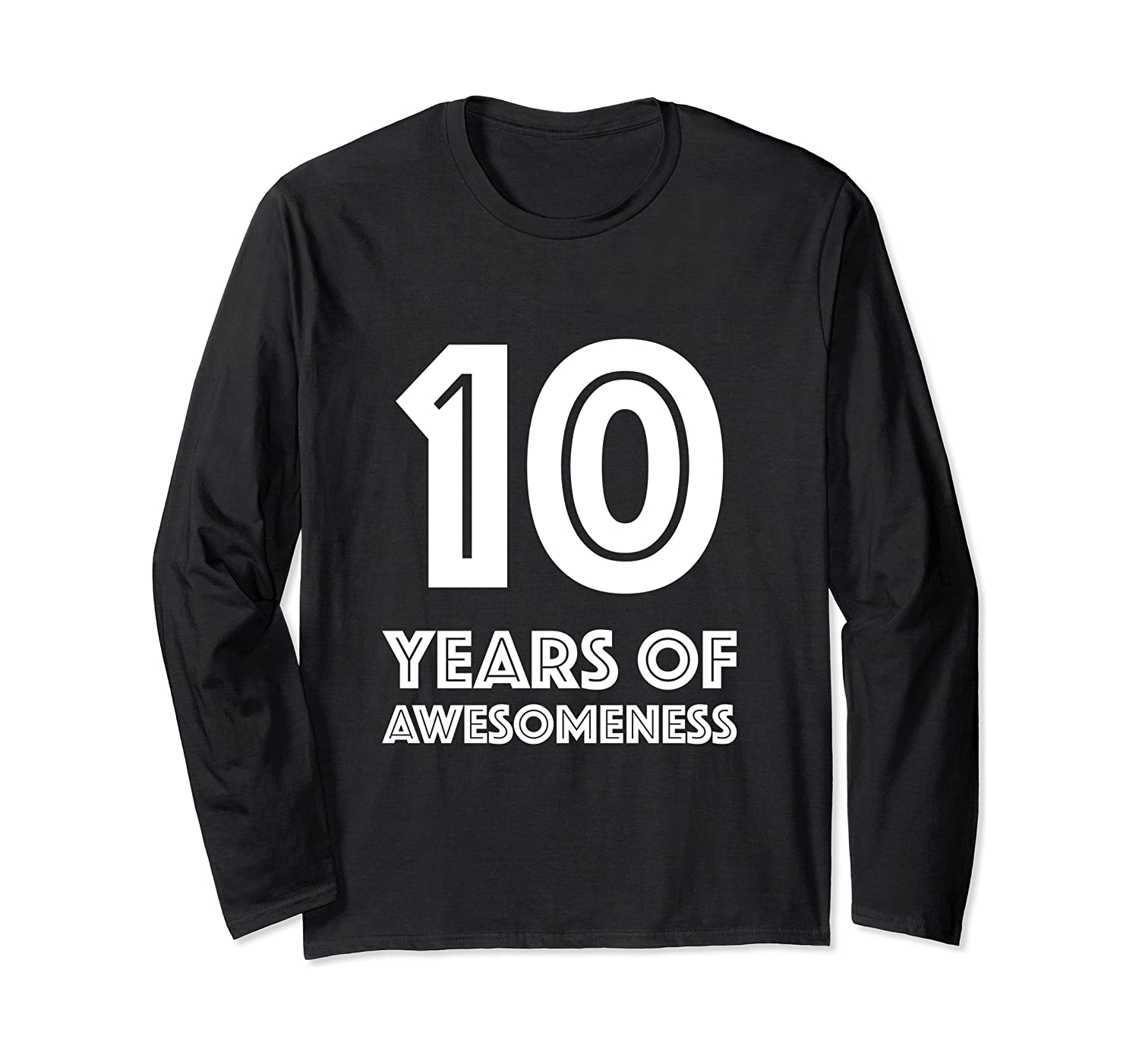 10th Birthday Shirt Gift Age 10 Year Old Boy Girl Tshirt Tee