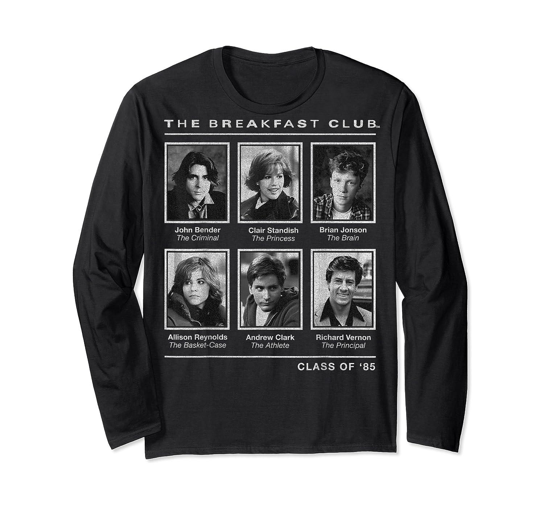 Breakfast Club Year Book Club Photos Graphic Shirts Long Sleeve T-shirt