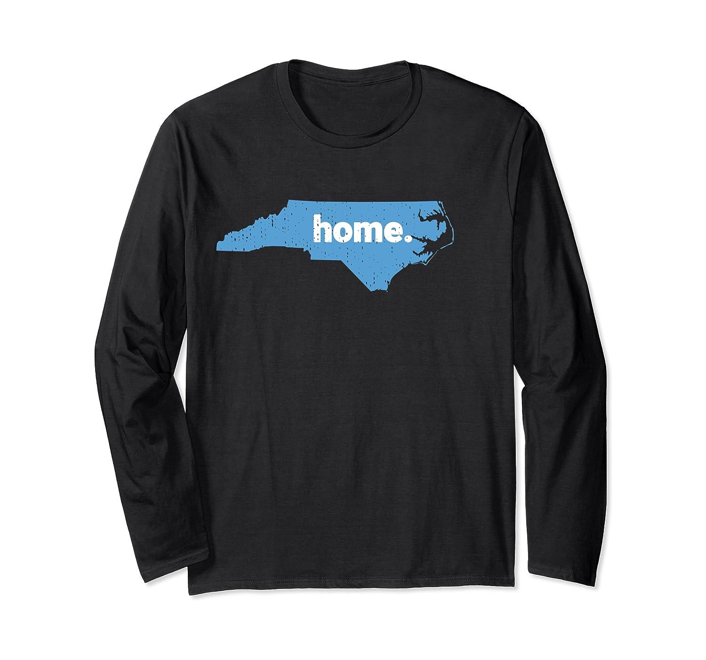Distressed North Carolina Home Tee Long Sleeve T-Shirt