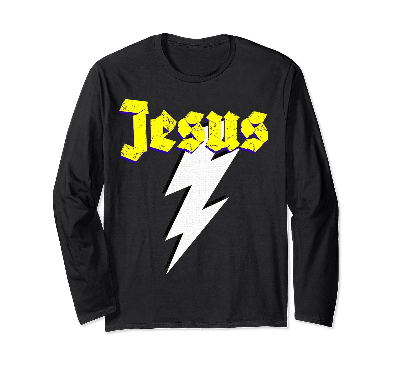 Jesus lightning Bolt  Long Sleeve T-Shirt