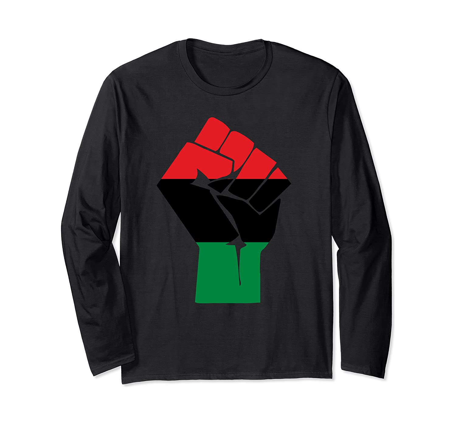 Afro-American Fist salute Shirt African Heritage Symbol Tee