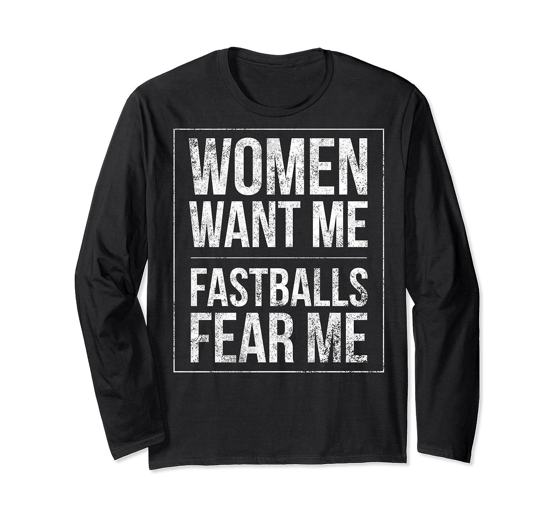 Baseball Player Power Home Run Fastball Hitter Love It Shirts Long Sleeve T-shirt