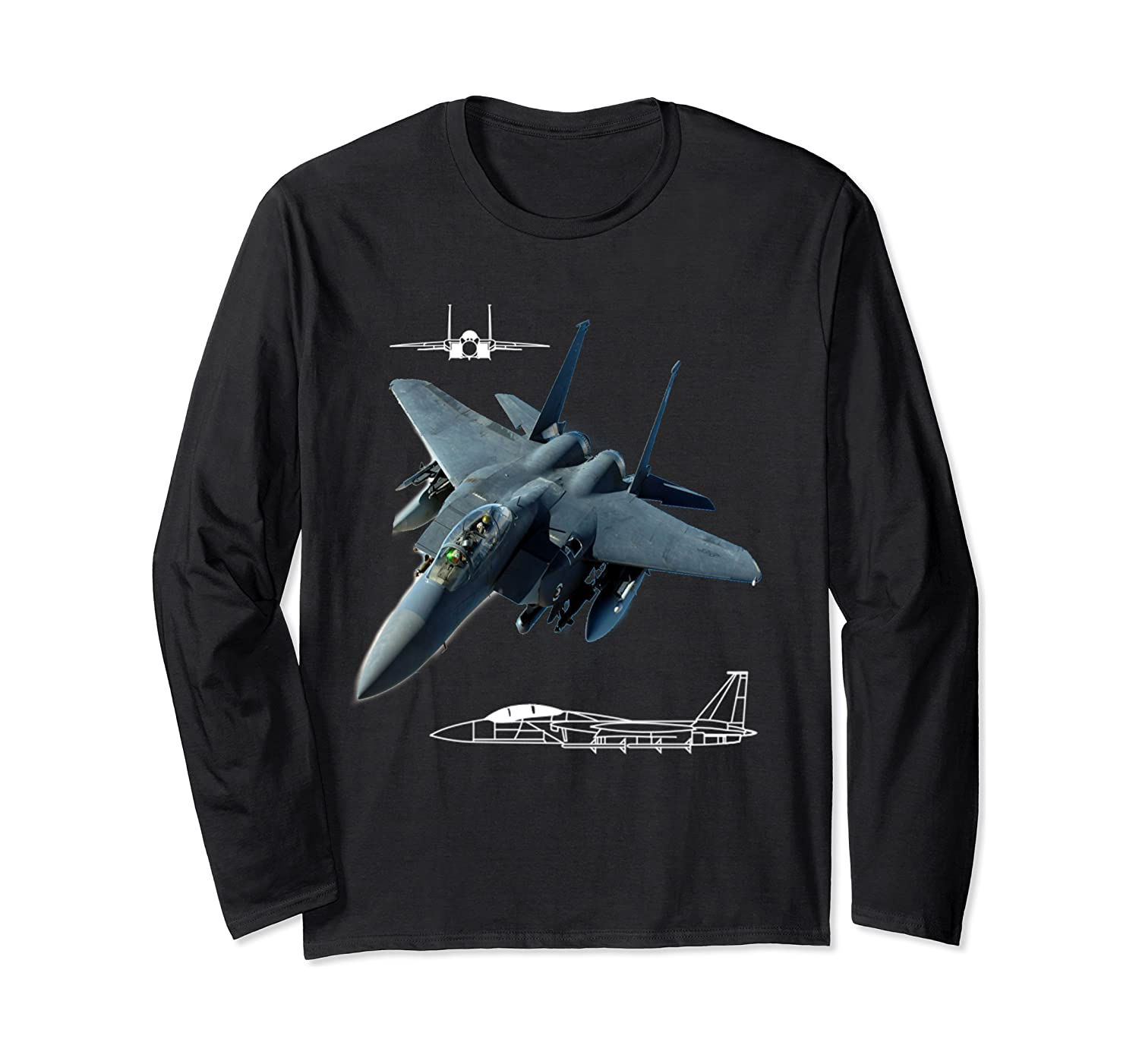 F 15 Eagle Jet Military Stealth Tactical Airplane Shirts