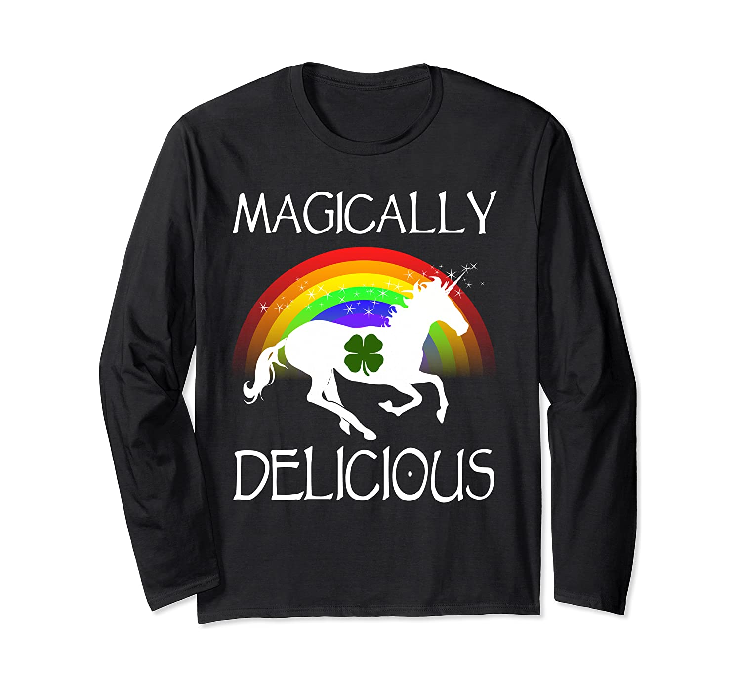 Magically Delicious Unicorn St Patrick's Day Ns Shirts