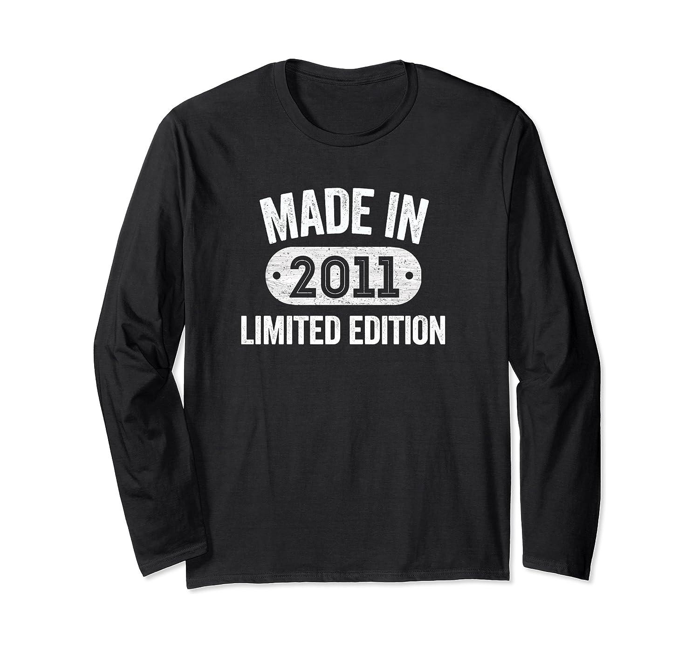 Made In 2011 9th Birthday Gifts Tee Long Sleeve T-Shirt-Yolotee