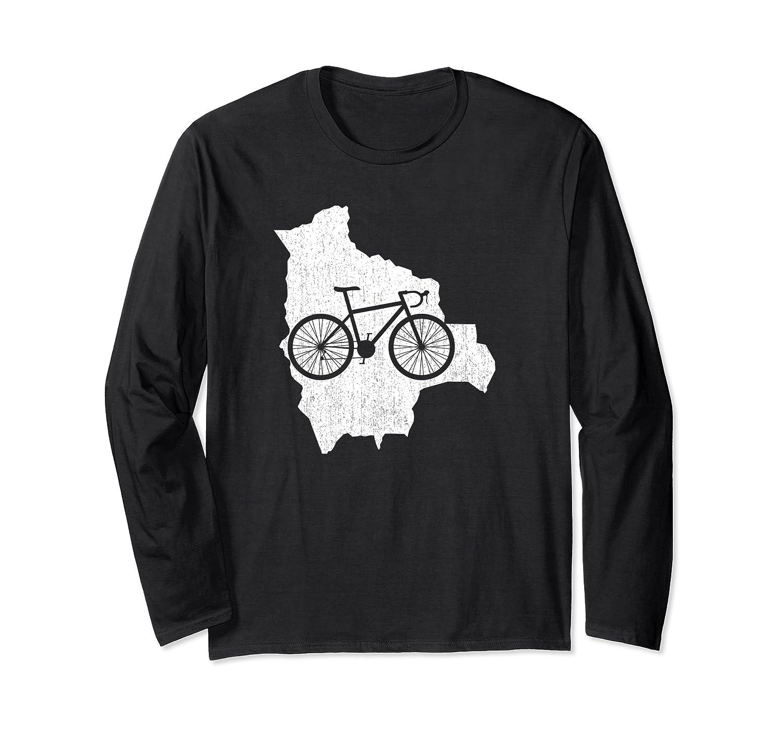 Cute Bolivia Bike Cycling Lover Gift T-shirt G005159
