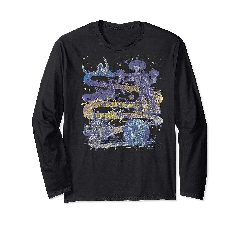 Disney Villains Map Premium T-shirt Long Sleeve T-shirt