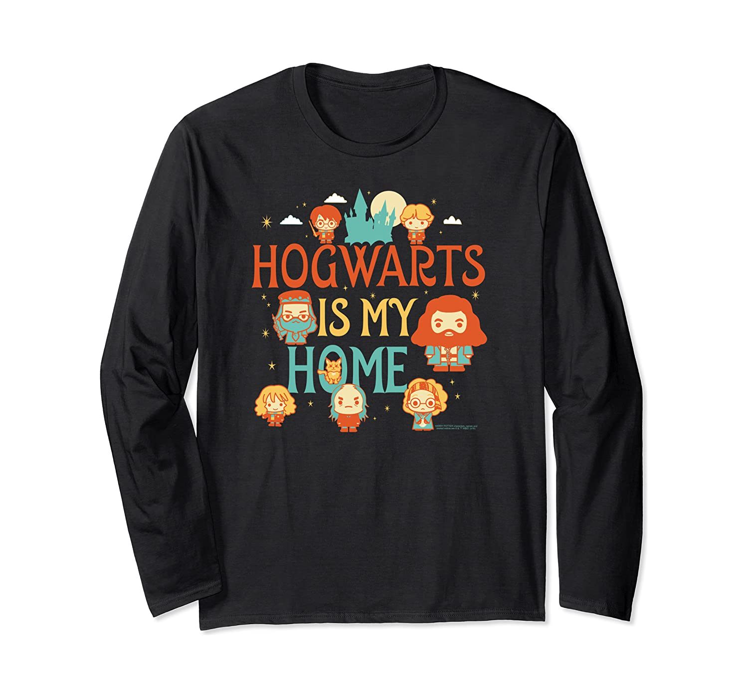 Harry Potter Hogwarts is my Home Long Sleeve T-Shirt
