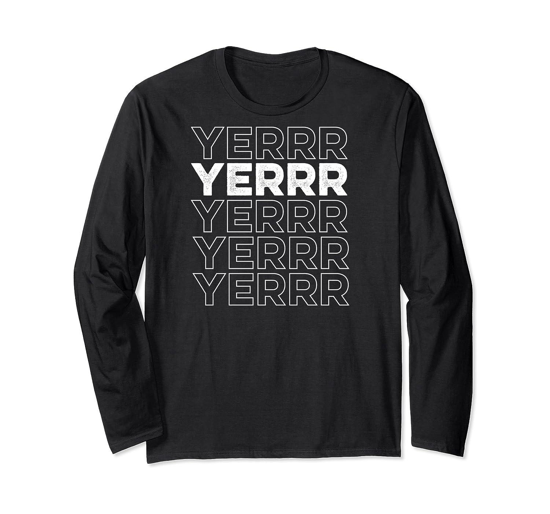 Yerrr New York Pullover Shirts Long Sleeve T-shirt